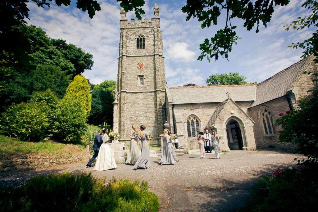 Nancarrow Farm Wedding, Cornwall